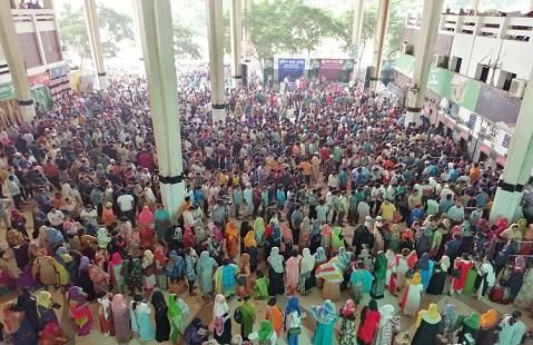 কমলাপুর স্টেশনে টিকিটের সার্ভাররুমে অভিযান দুদকের
