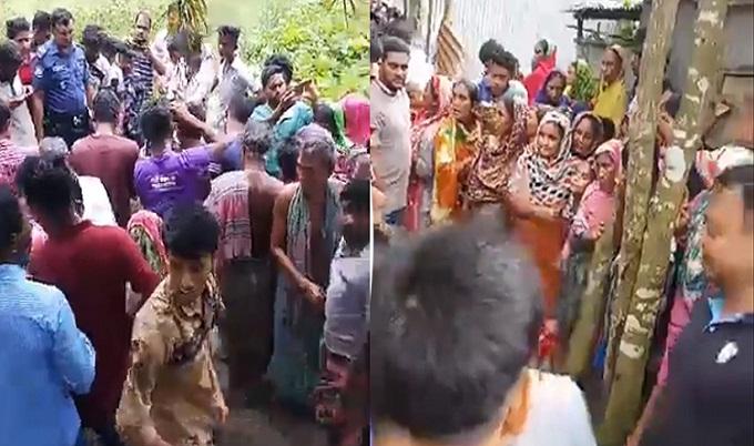 দেবীদ্বারে দিনেদুপুরে মা-ছেলেসহ চারজনকে কুপিয়ে হত্যা