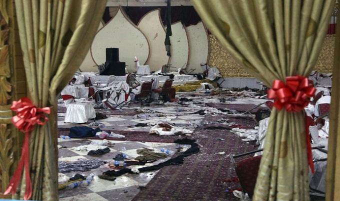 আফগানিস্তানে বিয়ের অনুষ্ঠানে বোমা হামলায় নিহত বেড়ে ৬৩