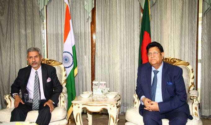 পানি বণ্টনের নতুন ফর্মুলা খুঁজছে বাংলাদেশ-ভারত : জয়শঙ্কর