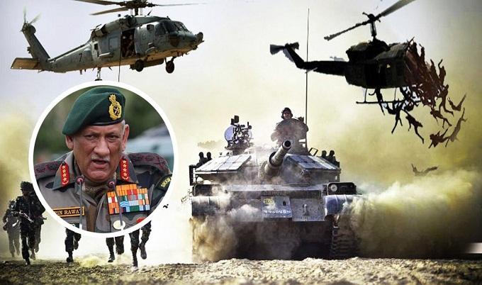 পাকিস্তানের বিরুদ্ধে যুদ্ধে আমাদের বাহিনী প্রস্তুত: ভারতীয় সেনাপ্রধান