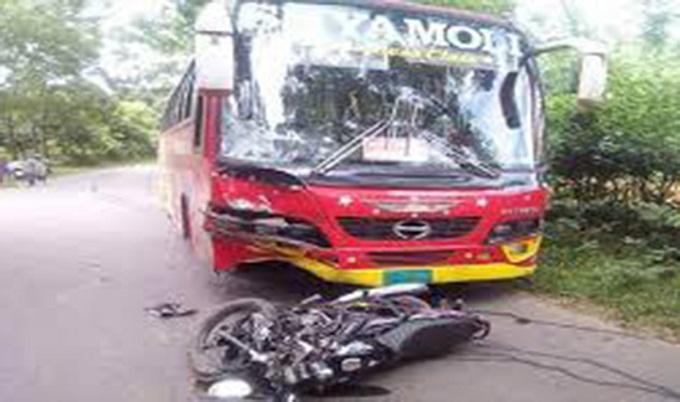 কুমিল্লায় সড়ক দুর্ঘটনায় তিন মোটরসাইকেল আরোহী নিহত