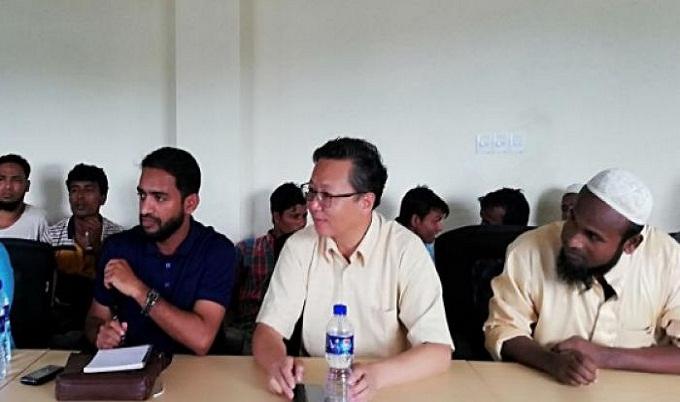 দেশে ফিরতে চীনা প্রতিনিধিদের ৩ শর্ত দিল রোহিঙ্গারা