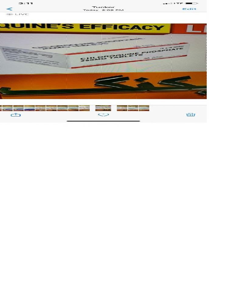 করোনার চিকিৎসায় ক্লোরোকুইন ব্যবহারের অনুমোদন দিয়েছে যুক্তরাষ্ট্র