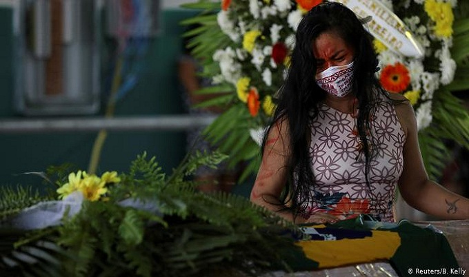 ব্রাজিলে করোনায় মৃত্যু ২২ হাজারের বেশি