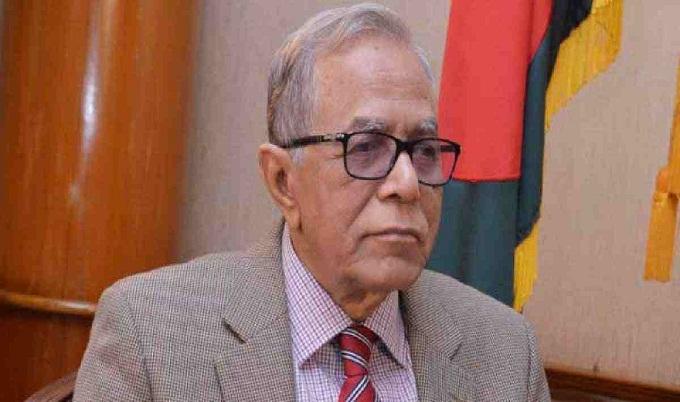 নিজে ভালো থাকি, অন্যকে ভালো রাখি : রাষ্ট্রপতি