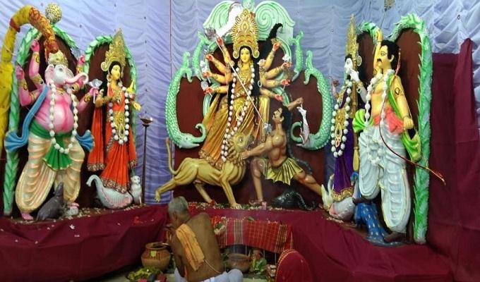 শারদীয় দুর্গাপূজার মহানবমী আজ