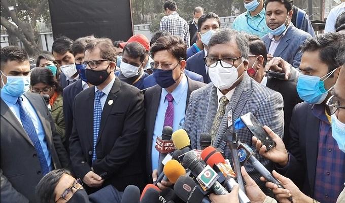 ভ্যাকসিন দিয়ে বন্ধুত্বের প্রমাণ দিলো ভারত: স্বাস্থ্যমন্ত্রী