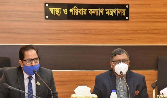 প্রাইভেট মেডিকেলে সেবামূল্য সরকার নির্ধারণ করবে: স্বাস্থ্যমন্ত্রী