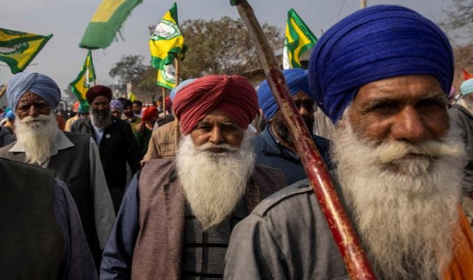 ভারতে কৃষক আন্দোলনে ২৪৮ জনের মৃত্যু