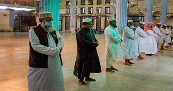 আজ থেকে মসজিদে ২০ জনের বেশি মুসল্লি নয়