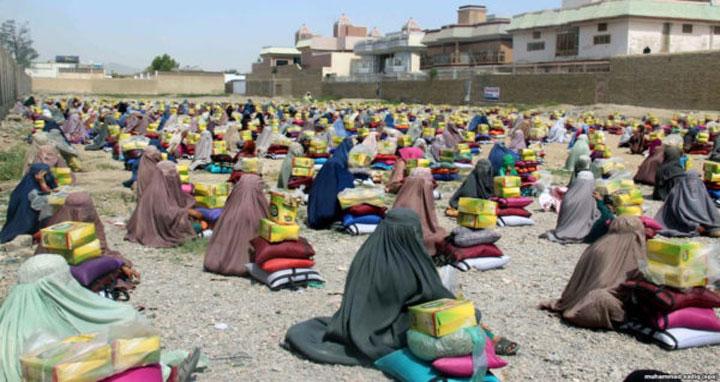 আফগানিস্তানকে ১০০ কোটি ডলারের সহায়তার প্রতিশ্রুতি