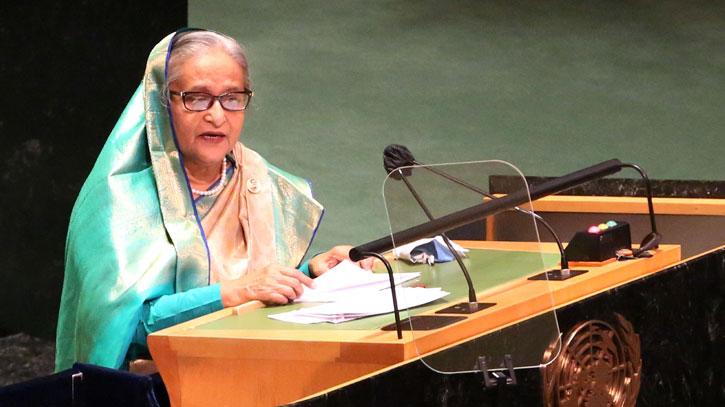 বাংলাদেশ আজ সমগ্র বিশ্বে উন্নয়নের রোল মডেল: প্রধানমন্ত্রী