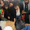 শহীদ মিনারে ইমতিয়াজ বুলবুলকে সর্বস্তরের মানুষের শ্রদ্ধা