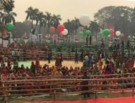 সোহরাওয়ার্দী উদ্যানে জনস্রোত