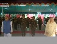 টুঙ্গীপাড়ায় বঙ্গবন্ধুর সমাধিতে রাষ্ট্রপতি-প্রধানমন্ত্রীর শ্রদ্ধা