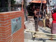 'আবরার' পথচারী সেতুর নির্মাণ শুরু