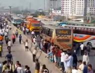 ঢাকা-চট্টগ্রাম-সিলেট সড়কে যান চলাচল শুরু