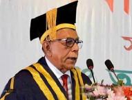 শিক্ষকরা পদ-পদবীর লোভে ব্যস্ত: রাষ্ট্রপতি