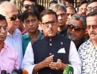 খালেদার জামিন না দিলে সরকারের কিছু করার নেই : ওবায়দুল কাদের