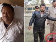 জুতা পড়ে শহীদ মিনারে ওঠা অধ্যক্ষকে গণধোলাই