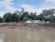 নদী ভাঙ্গনে বিলীনের পথে ২৬ গ্রাম