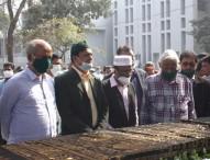 জাতীয় প্রেসক্লাবে মিজানুর রহমানের তৃতীয় জানাজা অনুষ্ঠিত
