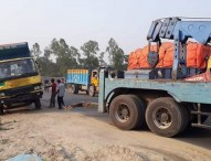 গোবিন্দগঞ্জে কাভার্ডভ্যানের চাপায় এক পরিবারের ৪ জন নিহত