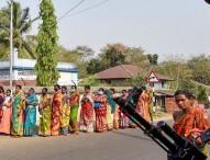 পশ্চিমবঙ্গে চলছে বিধানসভা নির্বাচনের ষষ্ঠ দফার ভোট