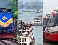 ঈদে লঞ্চ-ট্রেন ও দূরপাল্লার বাস বন্ধ করলো সরকার