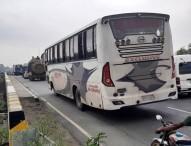 ঢাকা-টাঙ্গাইল-বঙ্গবন্ধু মহাসড়কে দূরপাল্লার বাস চলার অভিযোগ