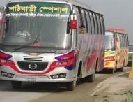 ঢাকা-টাঙ্গাইল মহাসড়কে চলছে দূরপাল্লার বাস