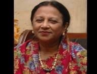 জাপার সংসদ সদস্য প্রফেসর মাসুদা রশিদ মারা গেছেন