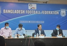 সাফের জন্য ২৬ সদস্যের বাংলাদেশ ফুটবল দল ঘোষণা
