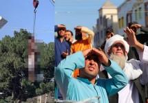৪ অপহরণকারীকে হত্যার পর লাশ প্রকাশ্যে ঝুলিয়েছে তালেবান