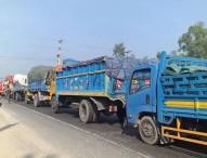 সিরাজগঞ্জে মহাসড়কে ৫০ কিলোমিটারজুড়ে যানজট